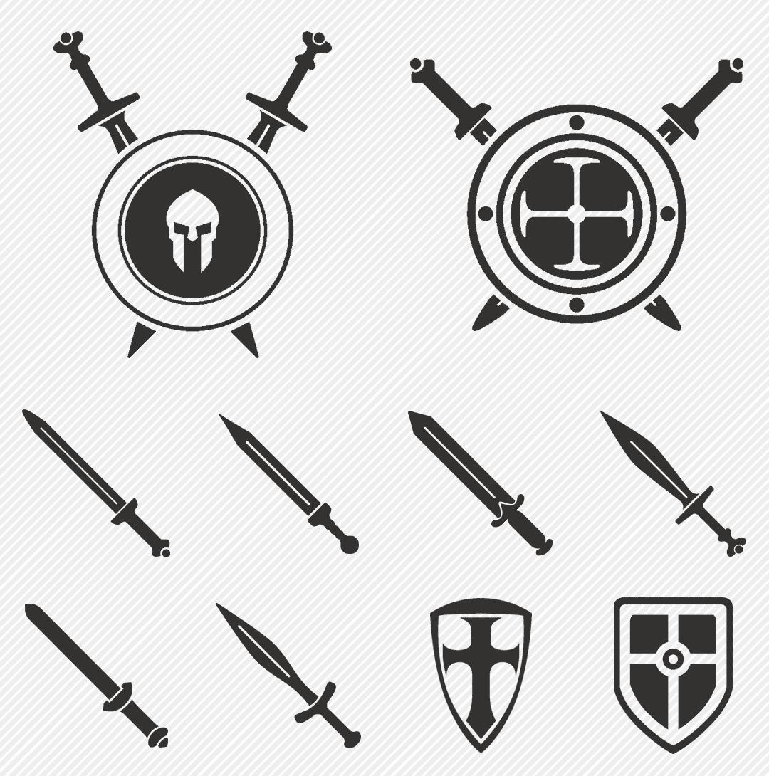 Iconset «Roman weapon & army»