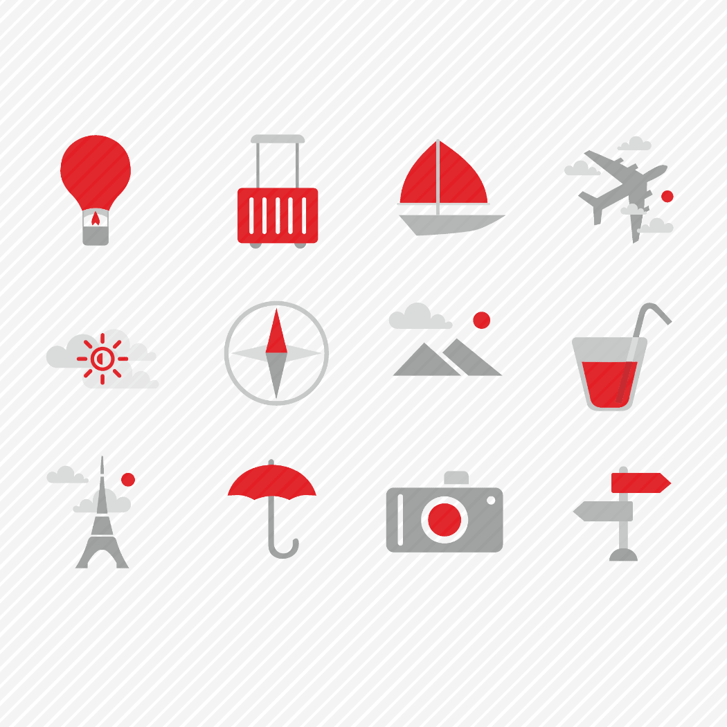Iconset «Travel & tourism»