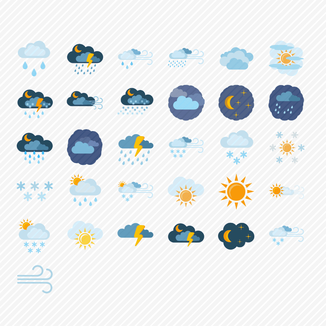 Iconset «Weather & nature»