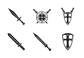 Choose iconset «Roman weapon & army» to buy the premium graphics