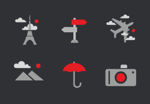 Choose iconset «Travel & tourism» to buy the premium graphics